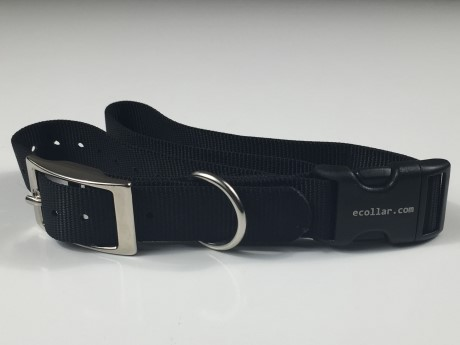 "1"" Nylon Collar Quick Snap w/ Buckle"