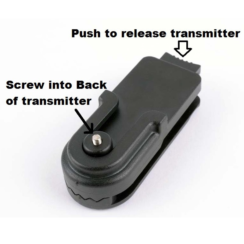 Belt Clip for All Transmitters